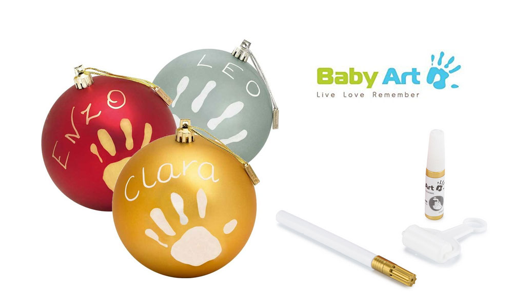 Christmas Ball personalizzabile Baby Art
