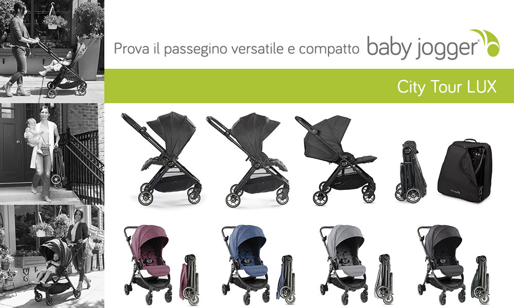 Passeggino Baby Jogger City Tour Lux