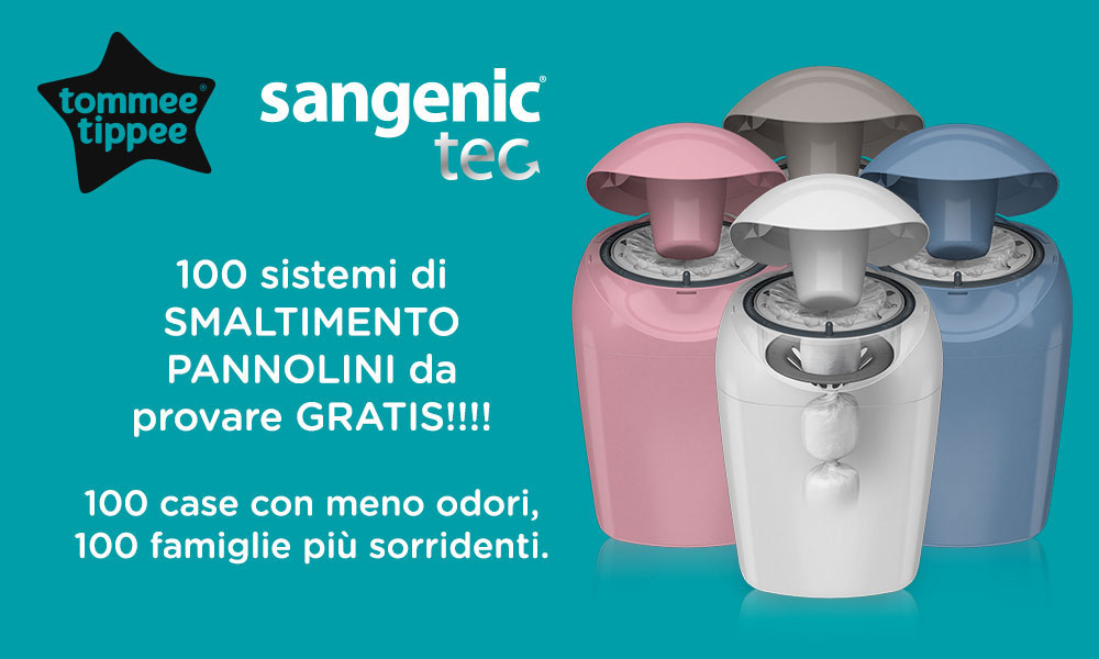 100 Sangenic TecTommee Tippee