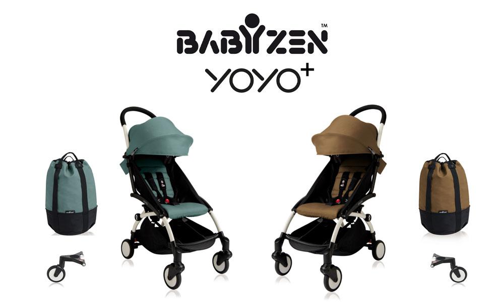 2 passeggini Yoyo Babyzen con Rolling bag da testare