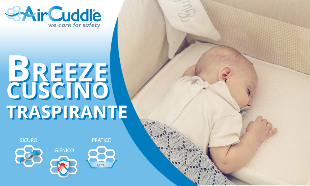 babytest cuscino Breeze Air Cuddle
