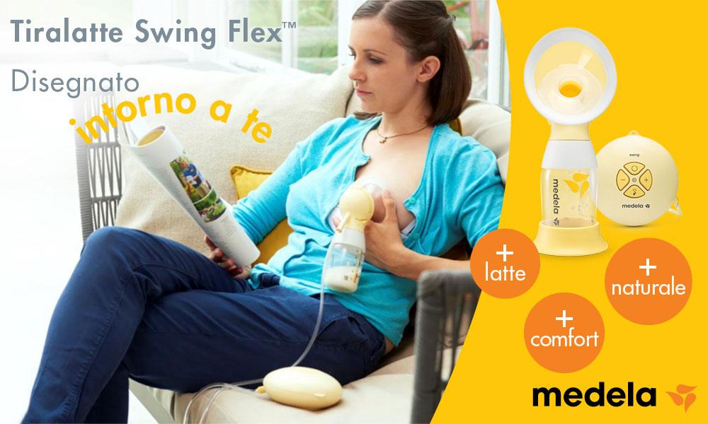 10 Tiralatte Elettrici Swing Flex di Medela