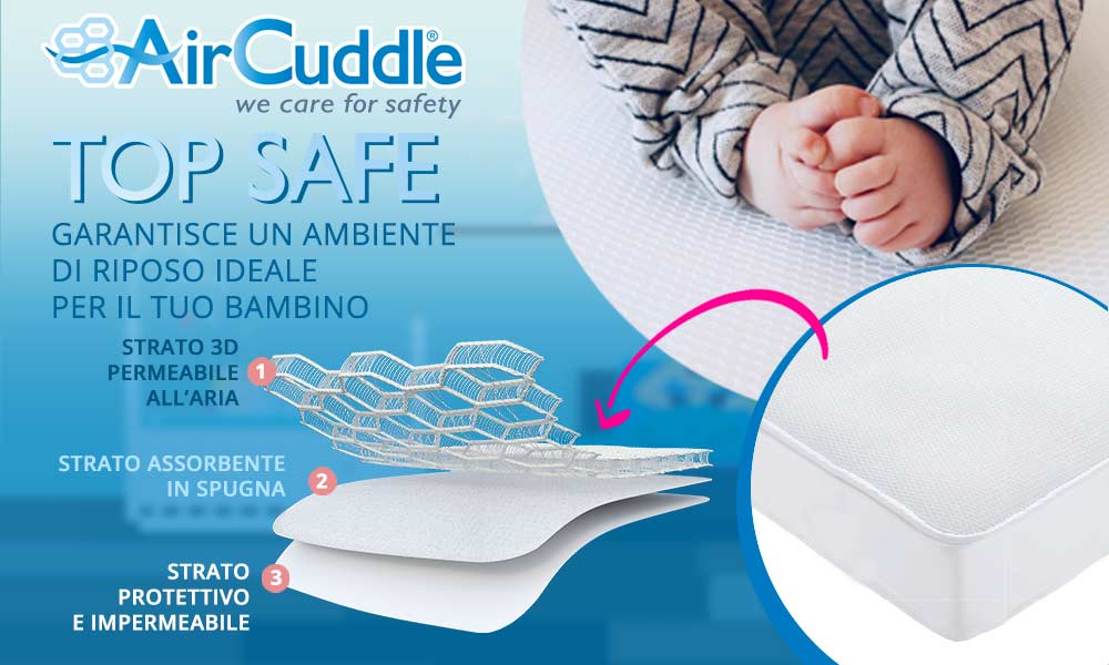 10 Coprimaterasso Top Safe Air Cuddl