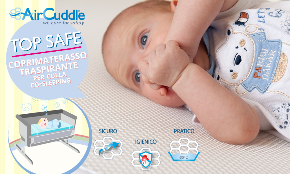babytest materasso Top Safe Air Cuddle