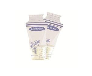 Buste contenitori per latte materno