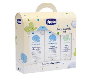 Baby Moments Set Bagnoschiuma Shampoo Pasta lenitiva