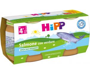 Omogeneizzato Salmone con verdure
