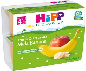 Frutta Grattugiata Mela e banana