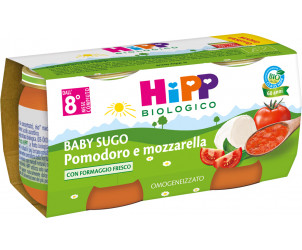 Baby Sugo Pomodoro e mozzarella