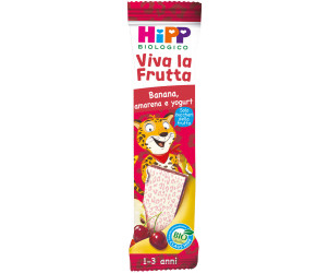 Barretta Viva la Frutta Banana, Amarena e Yogurt