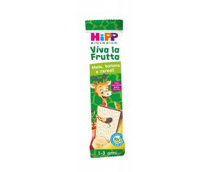 Barretta Viva la Frutta Mela, Banana e Cereali