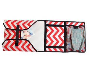 Fasciatoio da viaggio e mini-borsa per neonati Boo-MOI