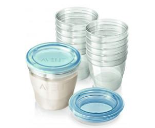 Contenitori per latte materno Via