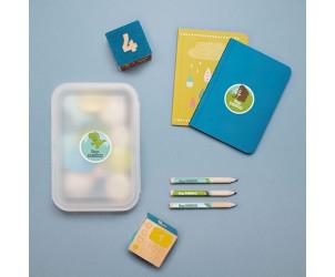 Etichette adesive per la scuola materna