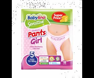 Pannolini mutandina girl taglia Junior 12-18kg