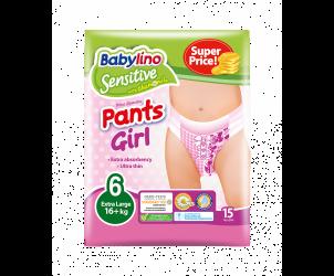 Pannolini mutandina girl taglia Extralarge da 16kg