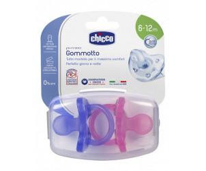 Ciuccio gommotto Physio silicone 6-12m