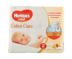 Pannolini Extra Care Bebé taglia 2 3-6kg
