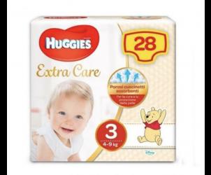 Pannolini Extra Care Bebé taglia 3 4-9kg