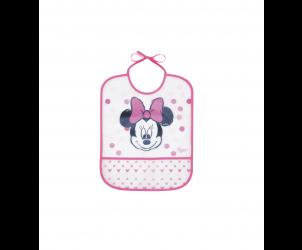 Bavaglino impermeabile Minnie/Mickey