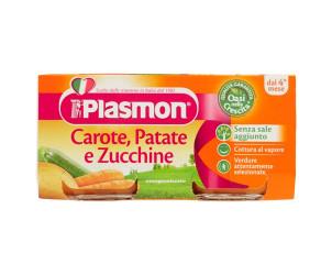 Omogeneizzato di Carote, Patate e Zucchine