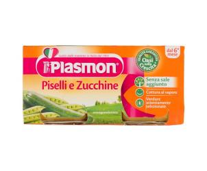 Omogeneizzato di Piselli e Zucchine