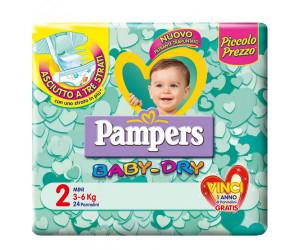 Pannolini BabyDry Taglia 2 Mini 3-6kg