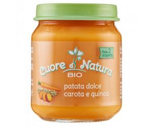 Omogeneizzato Bio Patata dolce con Carote e Quinoa