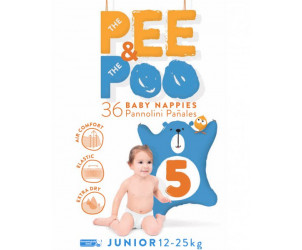 Pannolini The Pee & The Poo Junior 12-25 kg