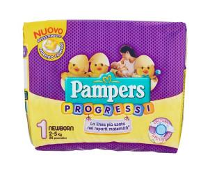Pannolini progressi Taglia 1 Newborn 2-5kg