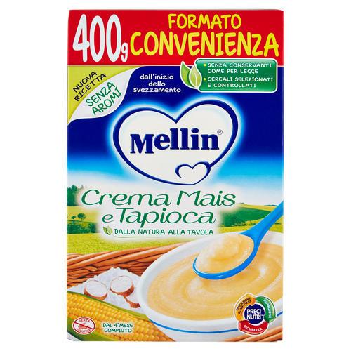 Creme Mellin di cereali - Crema mais e tapioca per lo ...