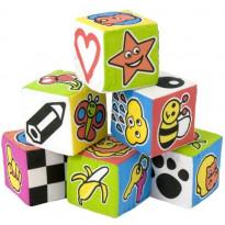 Cubi di Stoffa con Sonaglio