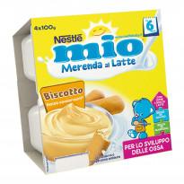 Merenda al latte Biscotto