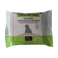 Salviette rinfrescanti Talco non Talco