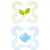 Ciuccio Start Nature Meadow Silicone 0-2m