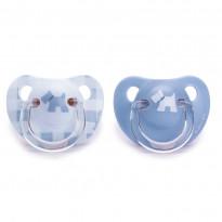 Succhietto Evolution Anatomico Silicone 0-6m Collezione Rosa & Blu